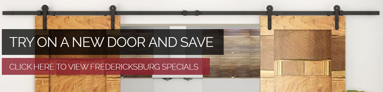 fredericksburg door specials
