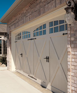 Captivating Chi Fiberglass Garage Doors