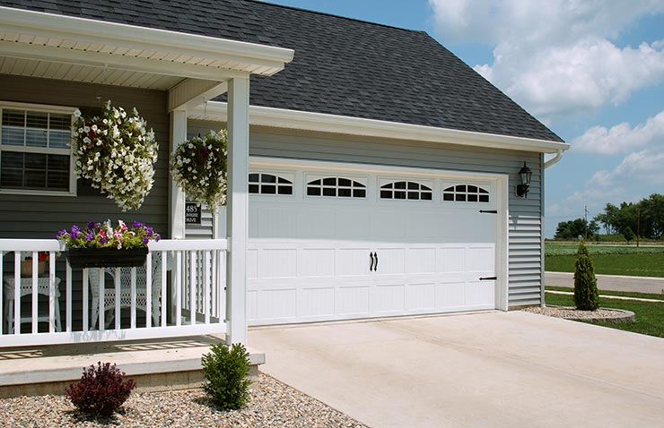 chi steel 1 sided garage doors