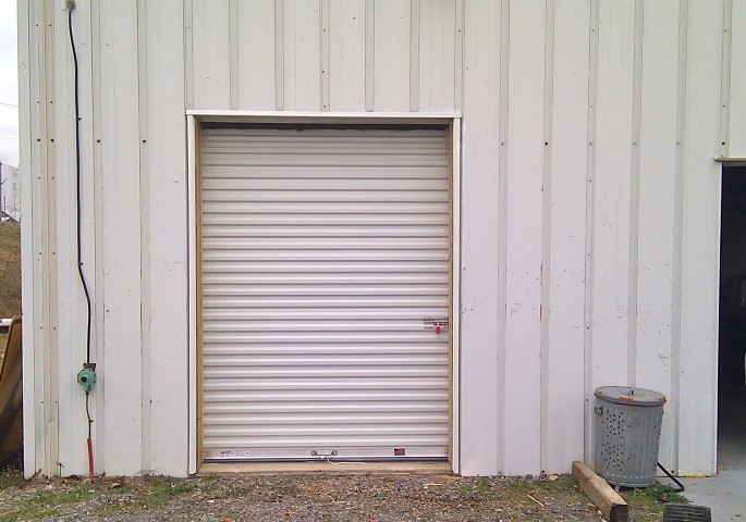 Coil Up Door Adds Storage Capability
