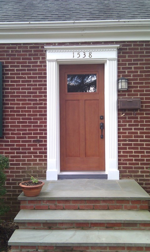 Virginia residential garage doors interior and exterior for Residential front doors