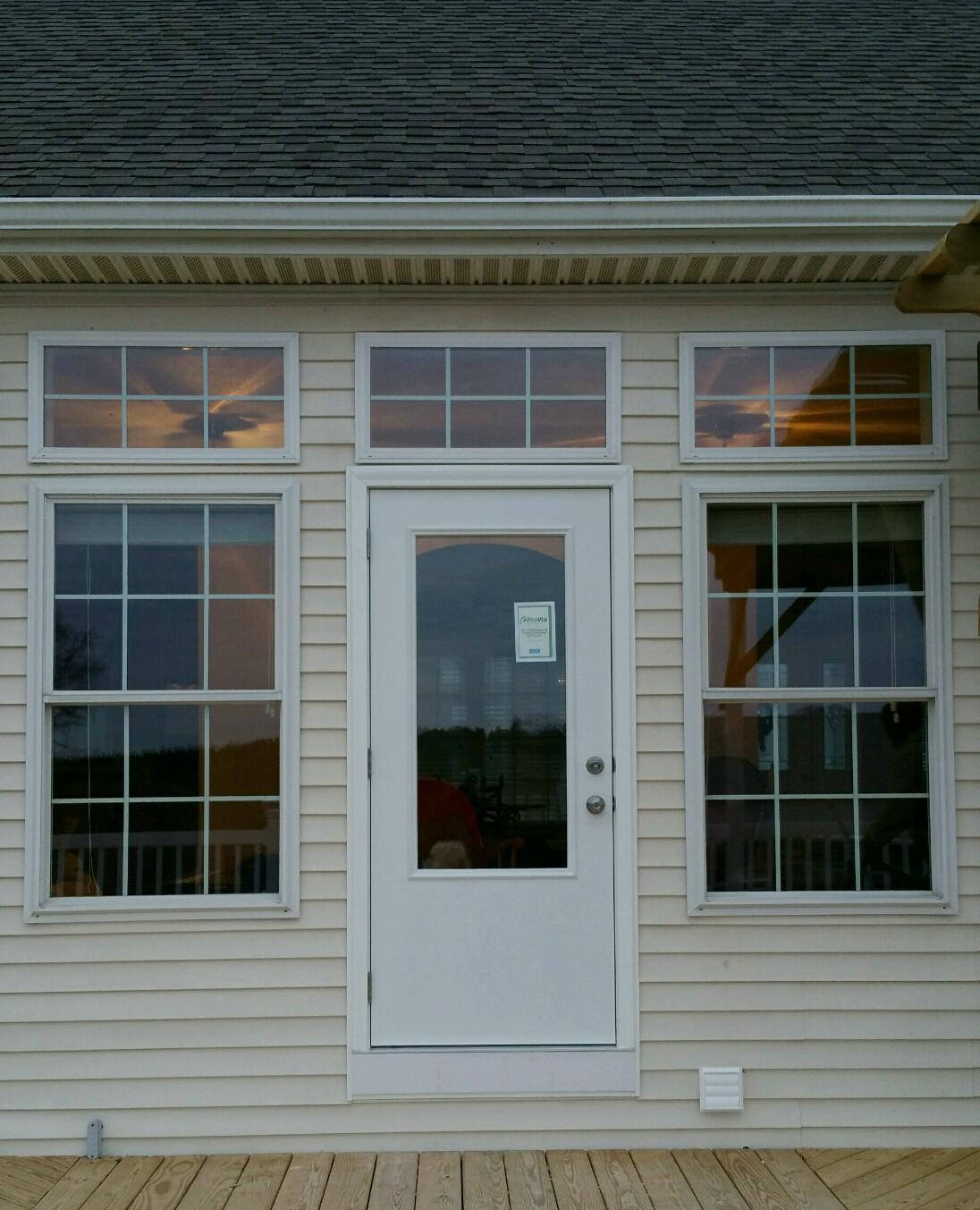 Virginia residential garage doors interior and exterior door galleries service and repair in for Exterior garage doors