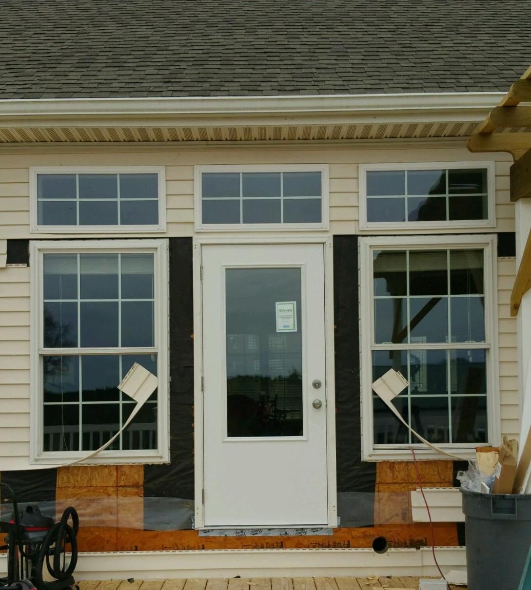 Virginia residential garage doors interior and exterior for Residential back doors