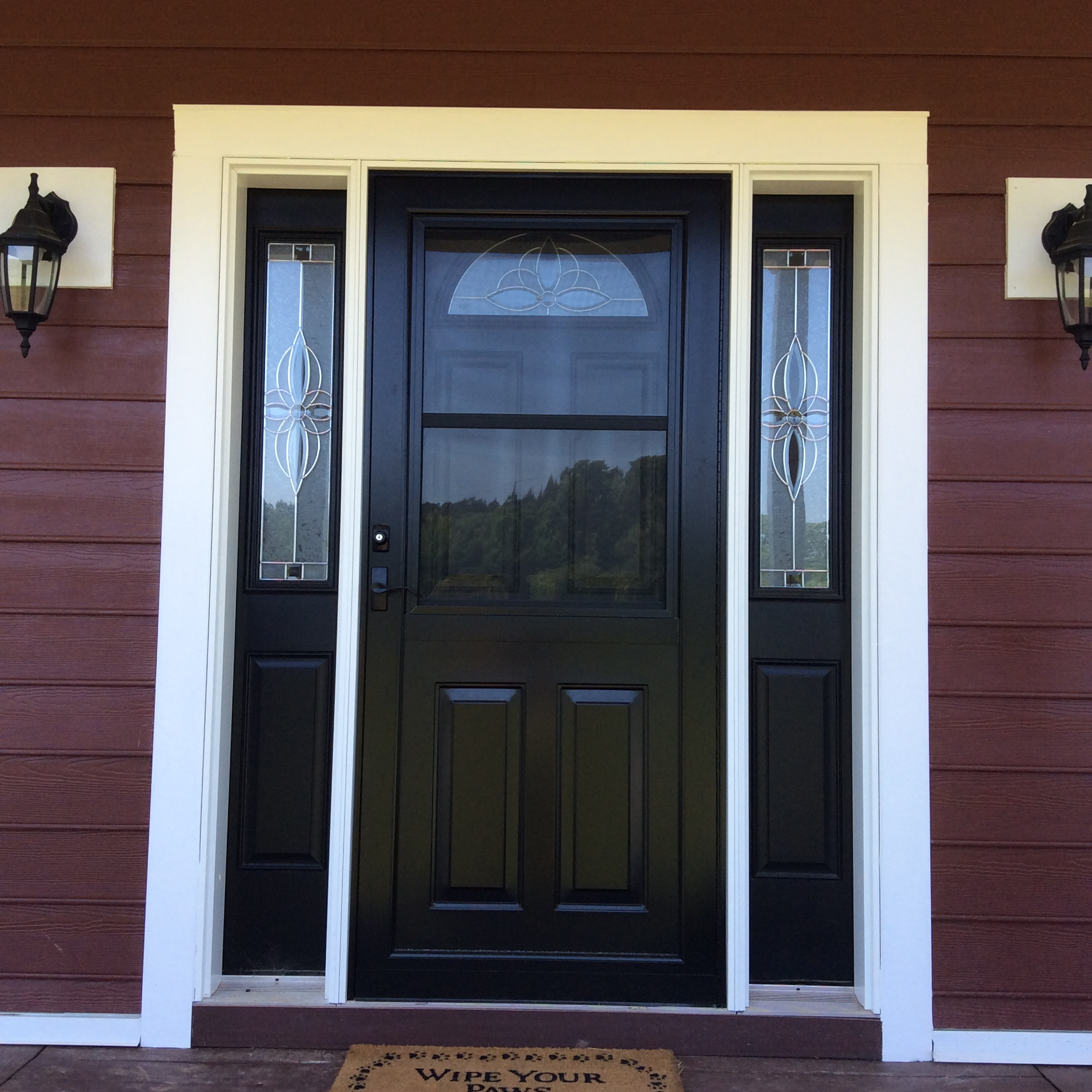 Model 397-C French storm door
