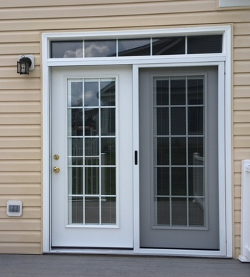 Legacy steel patio door