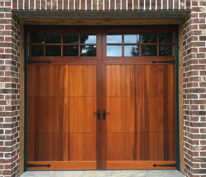 Wooden Garage Doors Cedar Garage Doors Prices I46 For