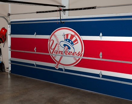 yankees garage door