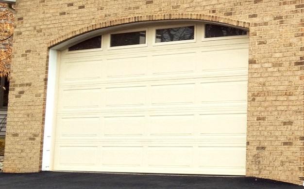 Arched Top Steel Carriage Door