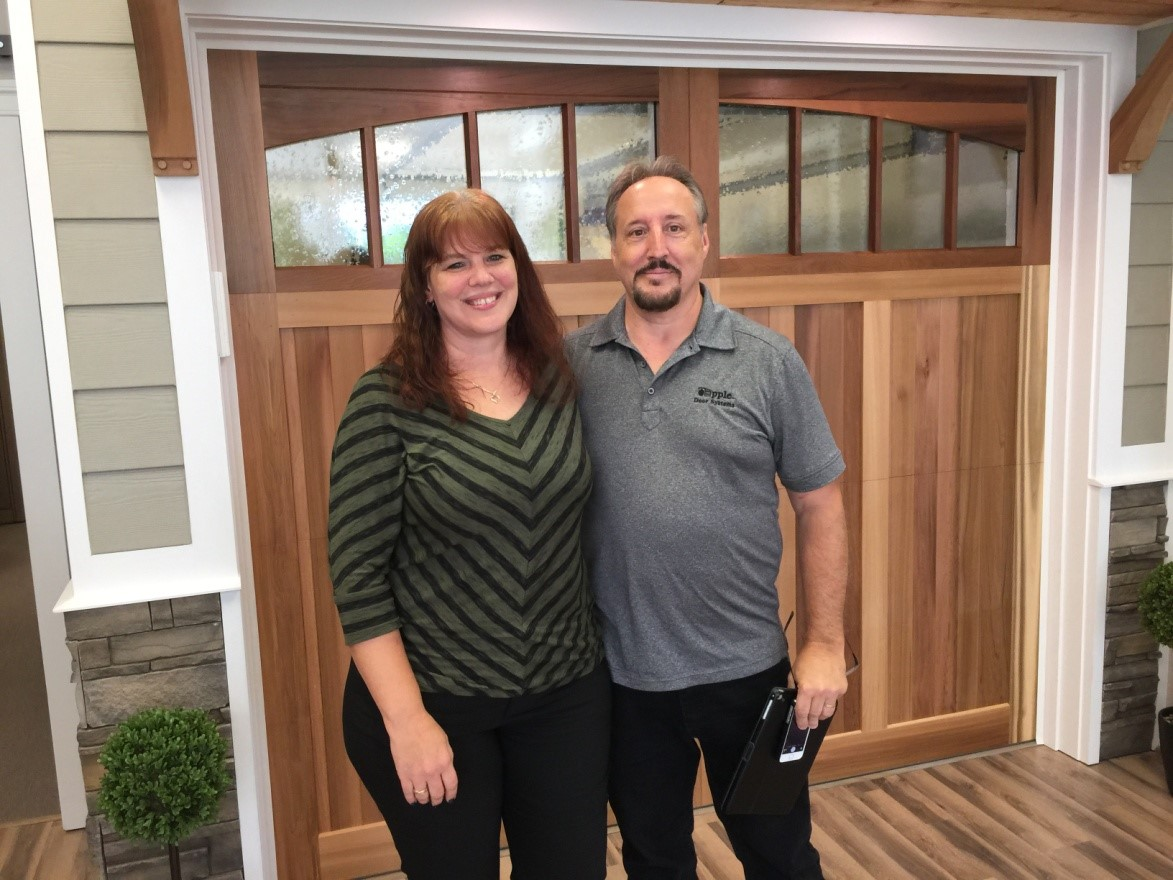 Awesome Apple Door Systems Was Founded In 1973 By Hubert Apple In Richmond,  Virginia. Hubert, With The Help Of His Son, Dan, Began Expanding The  Business Around The ...