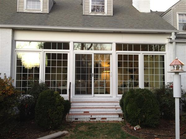 Sunroom Facelift Has Style and Function
