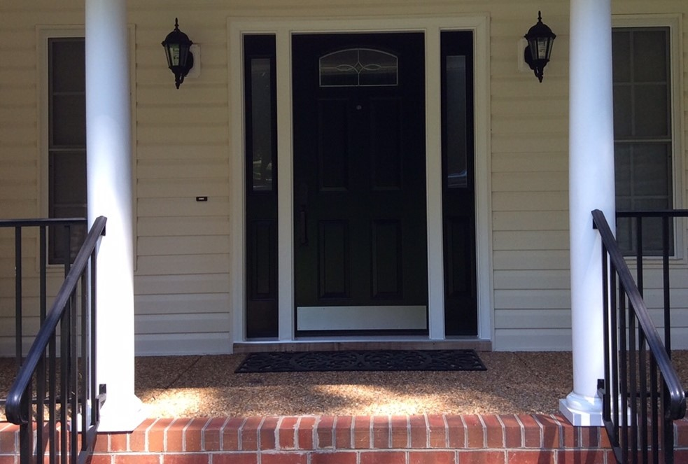 What a Difference A New Front Door Makes