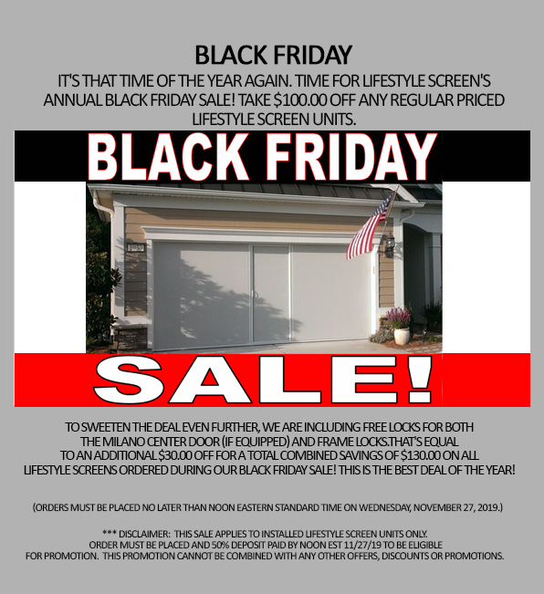 black friday garage door specials
