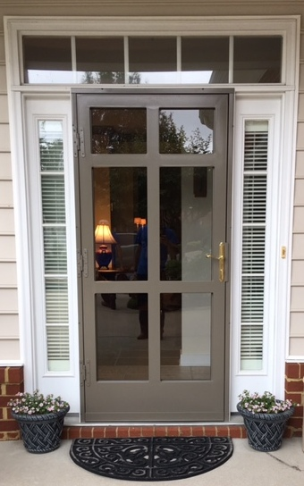 36x80 Williamsburg Security Storm Door