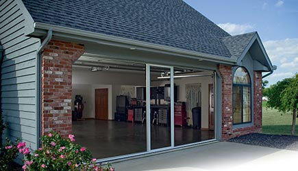 Beau Garage Door Screens