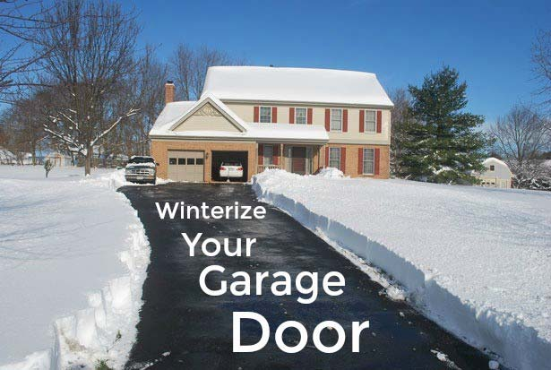 Winterize your garage door