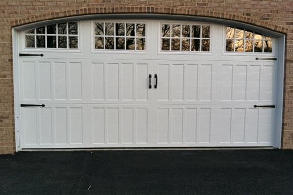 New Carriage Door Transforms Garage