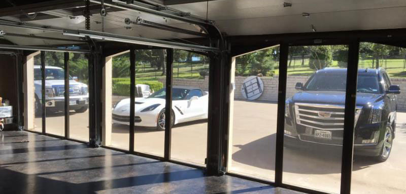 convert your garage into a bug free room in seconds with our operable screen garage doors perfect for the man cave youve always wanted - Screen For Garage Door