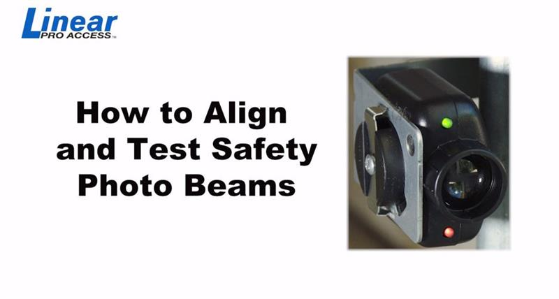 DIY Linear - How To Align and Test Safery Photo Beams